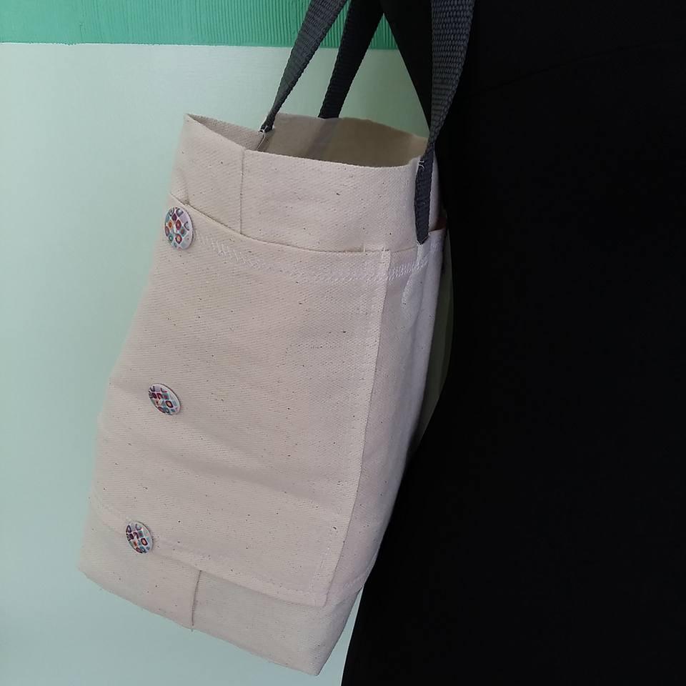 DIY Yarn Bag by Crafted Crafts