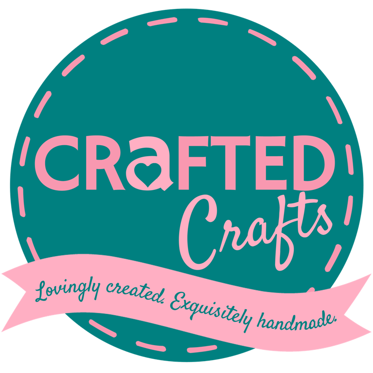 Crafted Crafts Logo Round