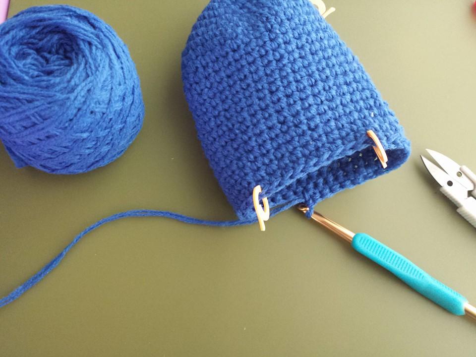crocheted slippers 2