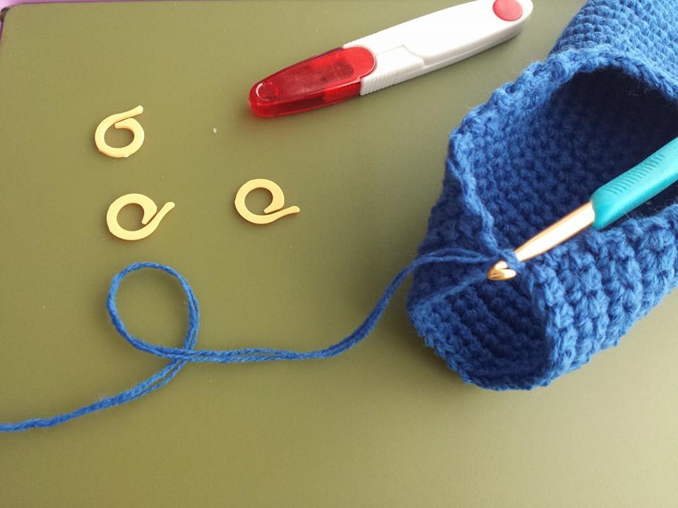 crocheted slippers 3