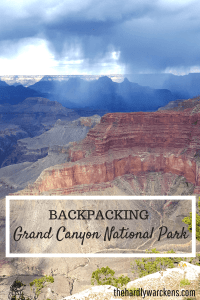 Backpacking Grand Canyon National Park