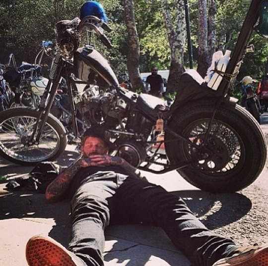 Local Man's Bad Boy Image Entirely Based on Sons of Anarchy