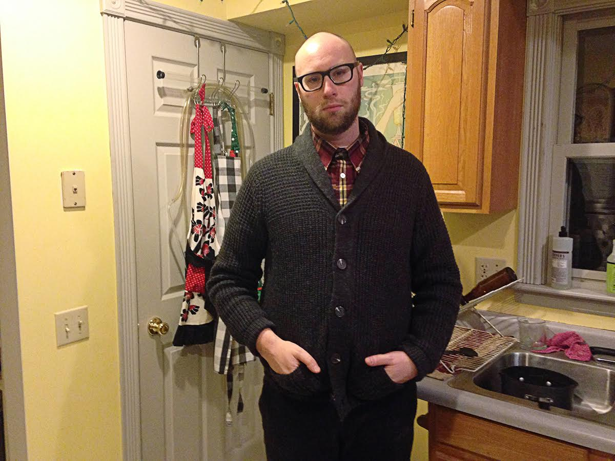 Aging Punk Loses Battle With Comfortable Clothes
