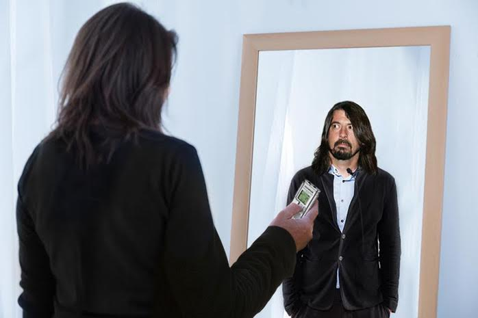Desperate Dave Grohl Interviews Himself