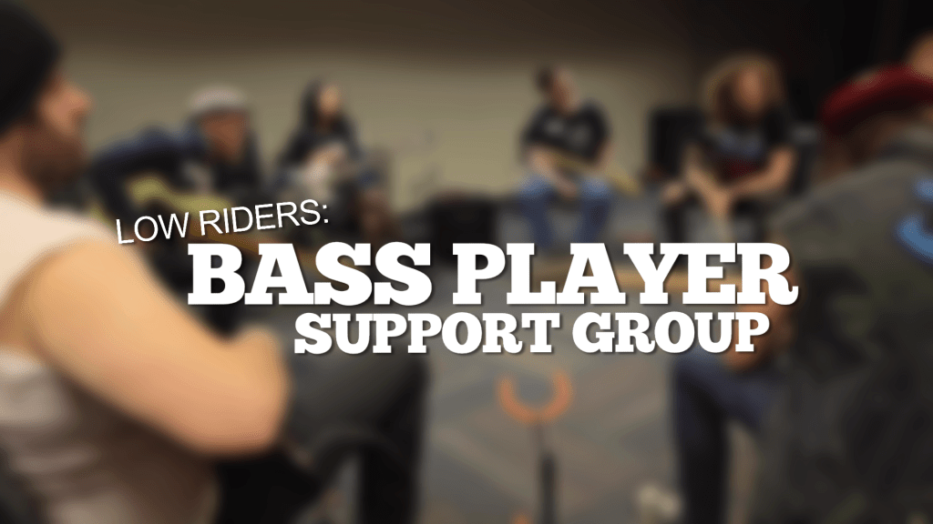 BASS PLAYER SUPPORT GROUP - TITLE PHOTO