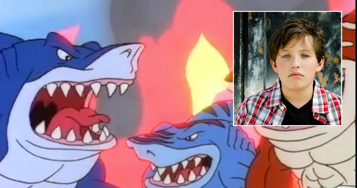 Only '90s Kids Remember This Episode of Street Sharks Playing the Day Dad Left