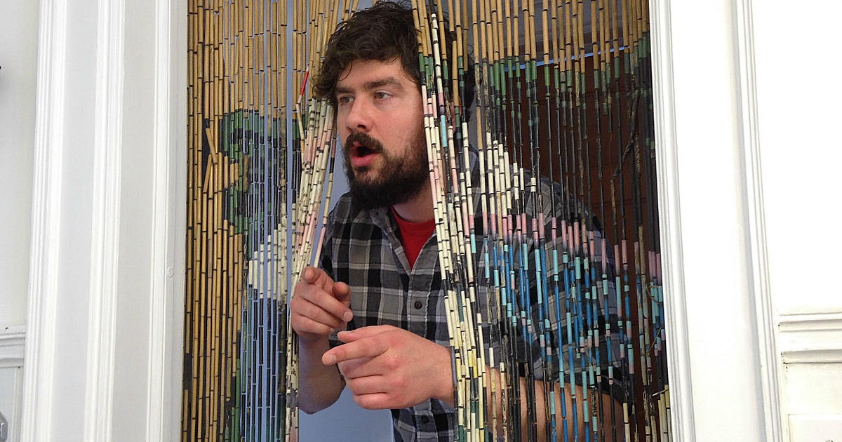 Guy Poking Head Through Beaded Curtain Can Tell You Exactly Why It's Called 420