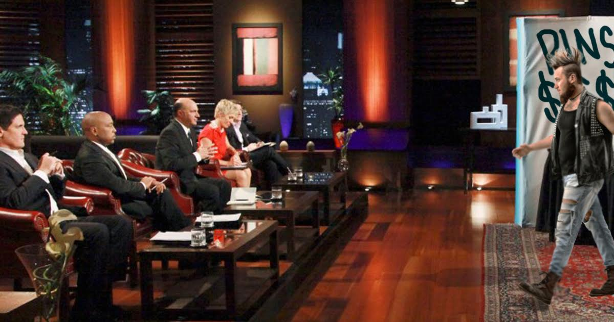 Punk on 'Shark Tank' Wants $25 to Make Some Pins