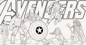 avengers marvel heroes drawing coloring draw announces drawings hell edition whatever race want paintingvalley tracing