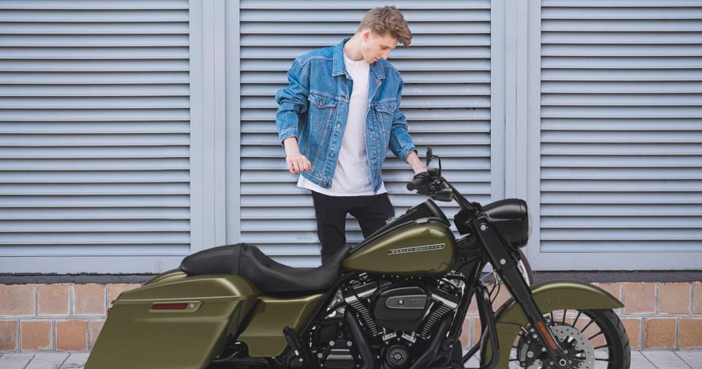 harley, motorcycle, fixed gear, harley-davidson