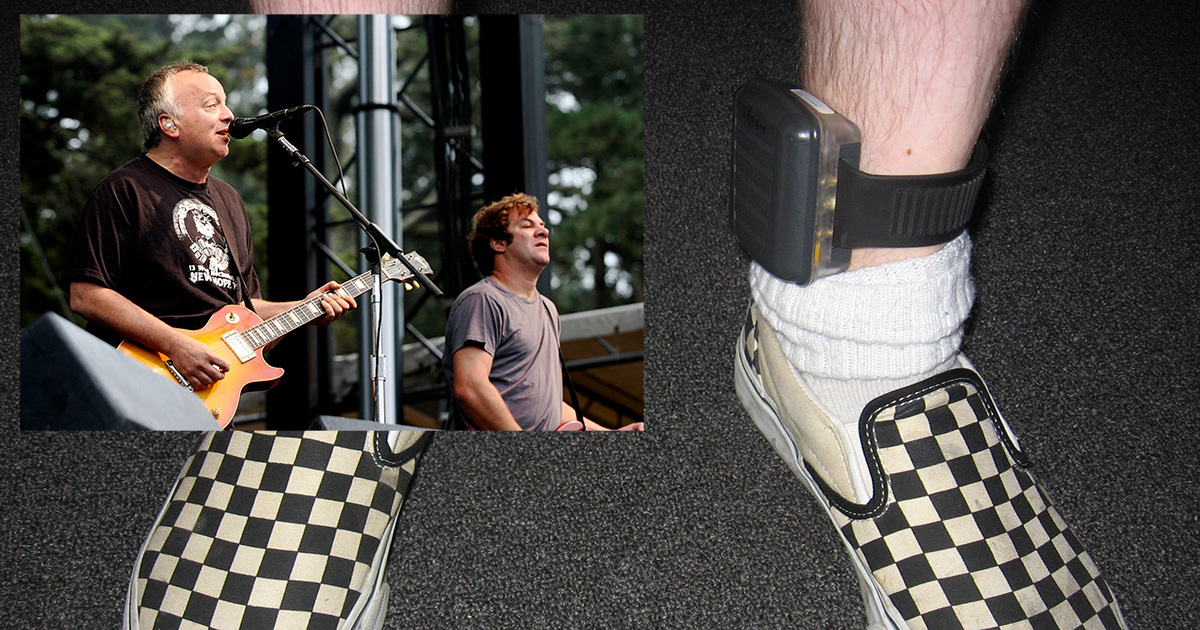 Ween Fans Can Now Purchase Tickets Directly Through Ankle Bracelets
