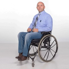 Wheelchair Man Kitchen Table 6 Chairs Bald Guy In Not Sure What To Be For Halloween
