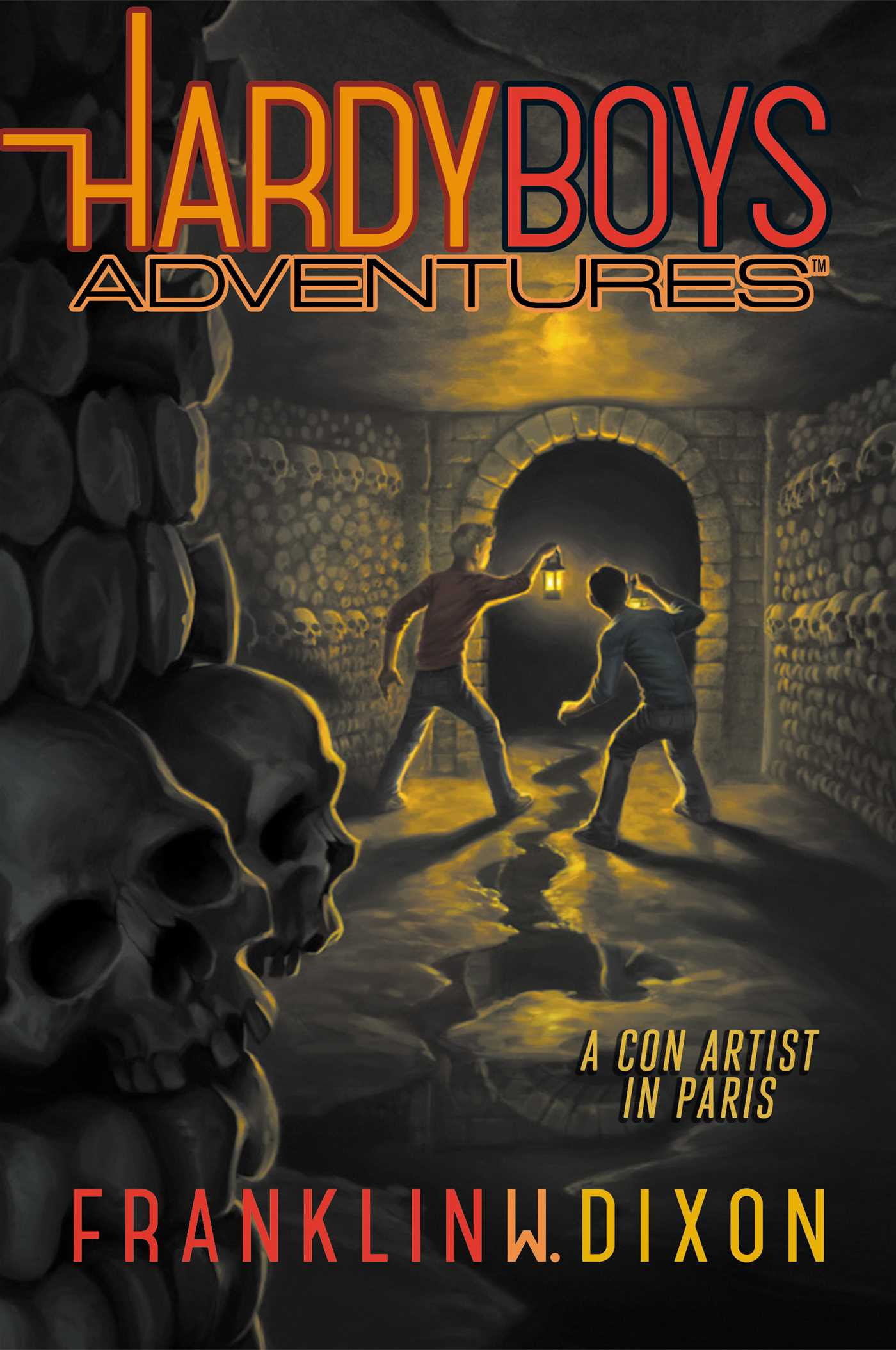 Hardy Boys Adventures #15 A Con Artist in Paris – Synopsis, Details, and Cover Art