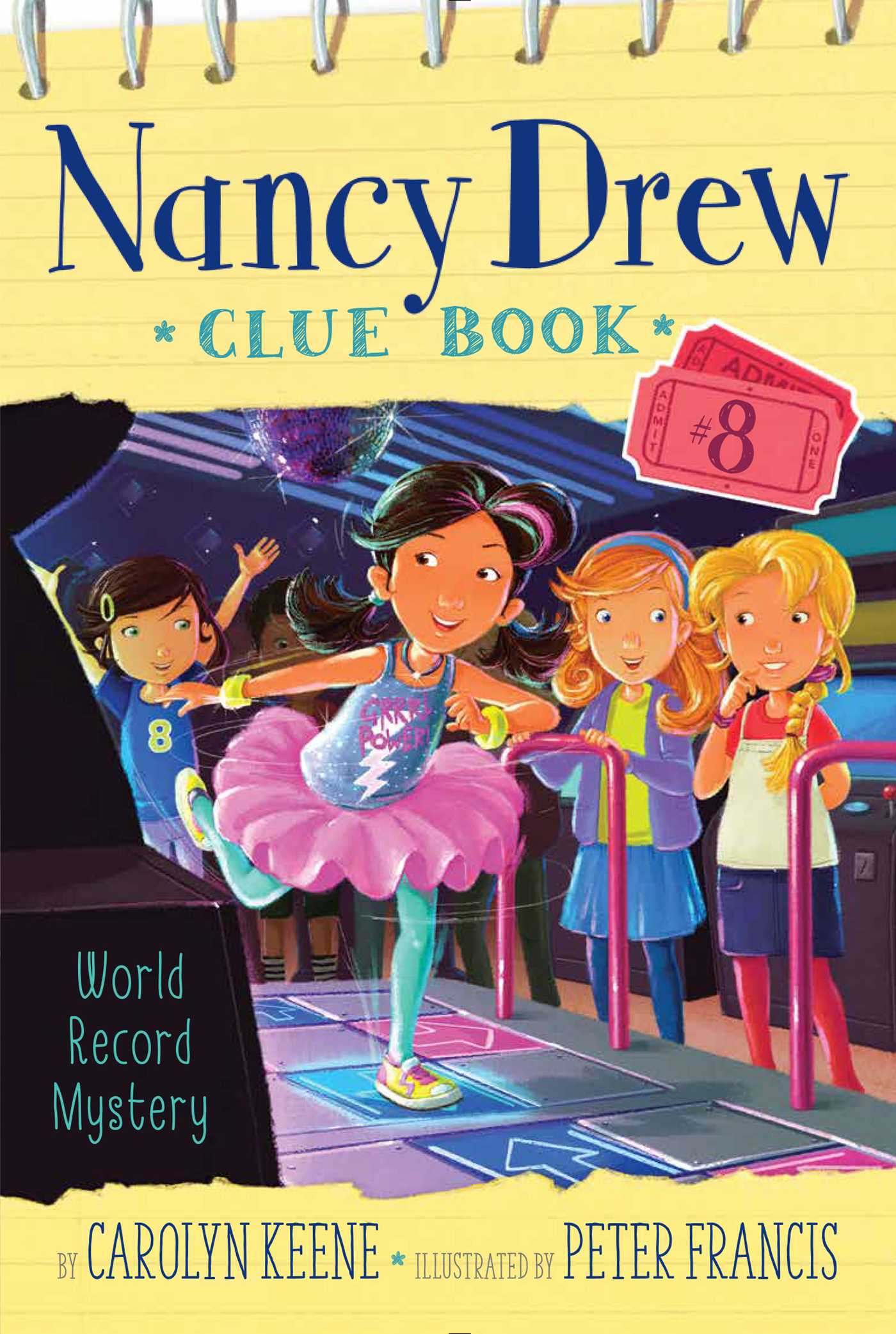 Nancy Drew Clue Book #8 World Record Mystery