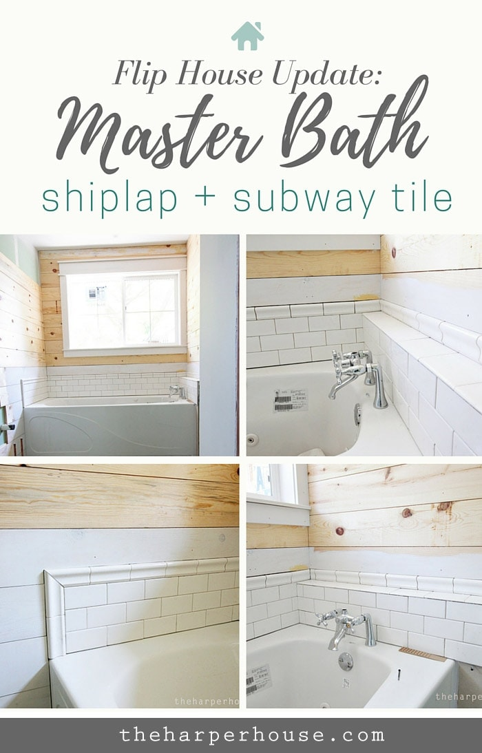 flip house master bath updates the