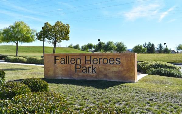 Oak Valley Greens Fallen Heroes Park Beaumont Ca