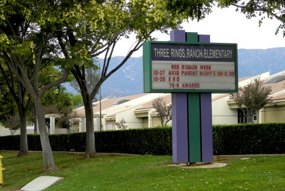 Three Rings Ranch Elementary School Beaumont Ca