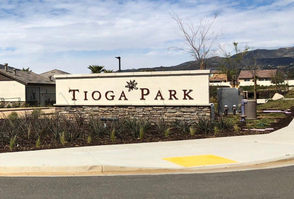 Tioga Park Beaumont California