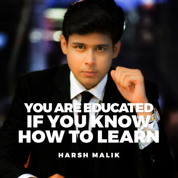 Top 20 Inspirational Quotes By Harsh Malik  Harsh Malik