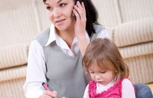 busy mum in relationship