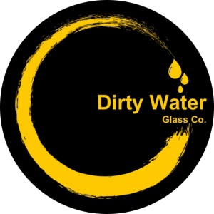 Dirty Water Glass Co Logo