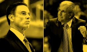 Obradović or Pitino? That's the question
