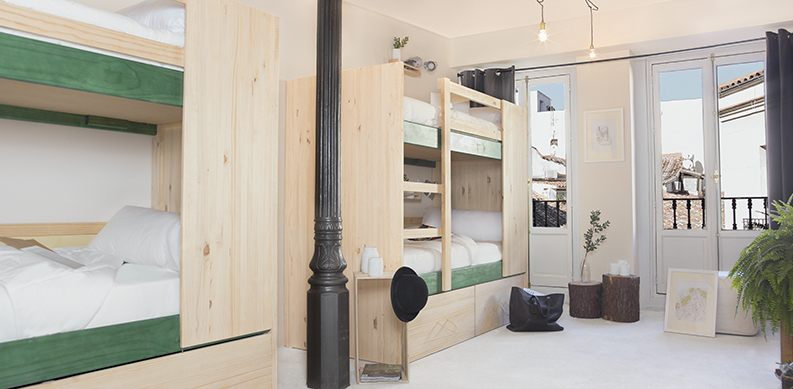 Madrid Rooms the best rooms in Madrid hostels  The Hat
