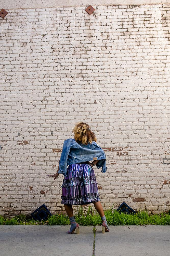Skirt by ASOS, worn by Hautemommie