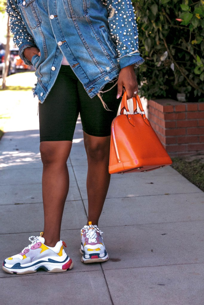Balenciaga triple S's to Louis Vuitton Arclight's, Hautemommie shows you how to style granddad sneakers.