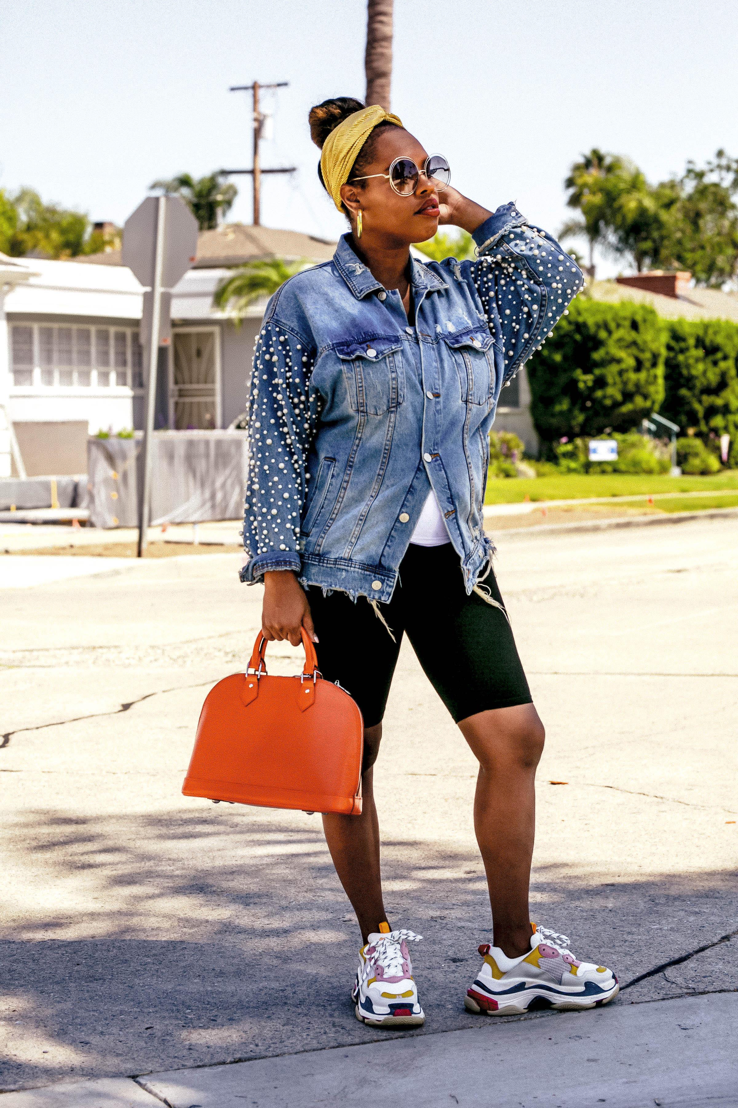 LA Blogger, Balenciaga, Louis Vuitton, Alexander McQueen, Granddad sneakers, trend