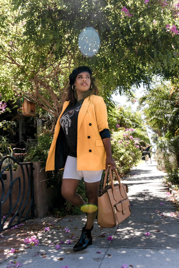 It's Fall on The Hautemommie, see what style tips Leslie is sharing for biker shorts!