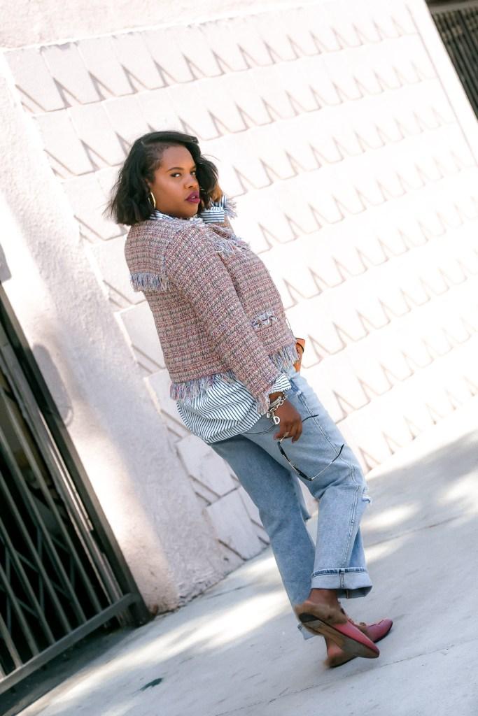Leslie Antonoff is a Long Beach based blogger sharing her wardrobe secrets on TheHautemommie.com!