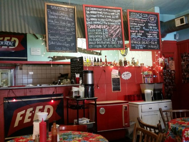 interior view of Feed in Humboldt Park