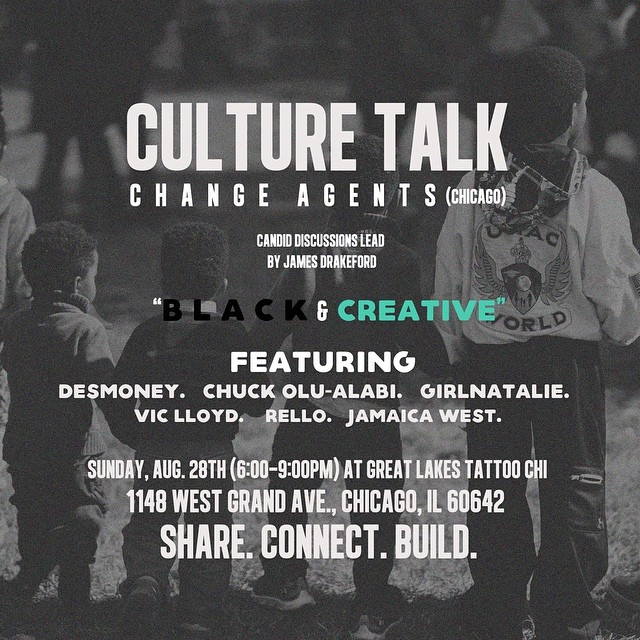 Culture Talk August Events in Chicago feature on The Haute Seeker 2016