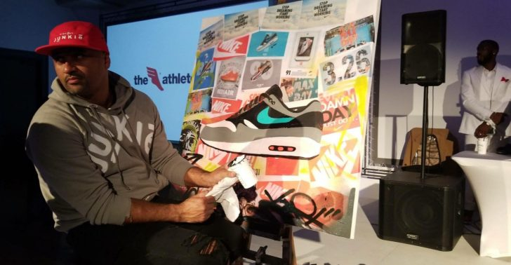 P.Scott at the AGORA Sneakerball