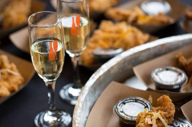 Champagne glass- chickenbites--chicago-events-feburary-2019-thehauteseeker
