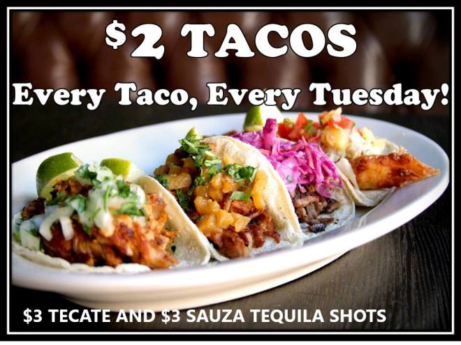 Two Dollar Tacos Image featured on The Haute Seeker list of cool and cheap things to do on a weekday in chicago