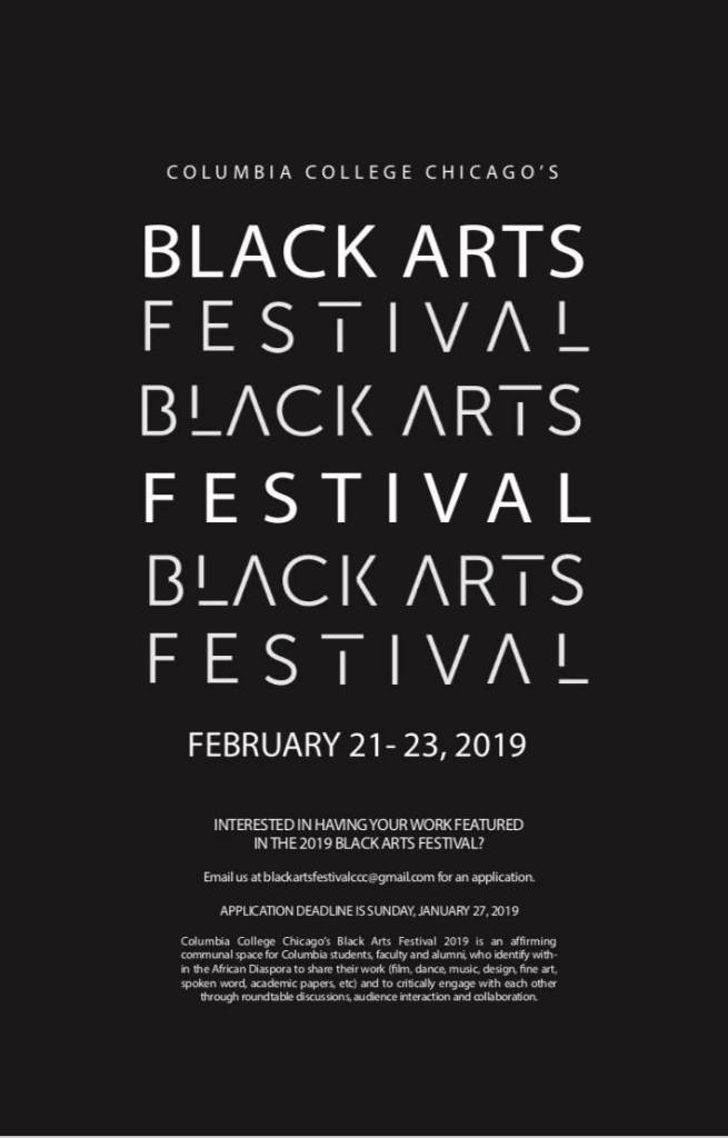 flyer-black-arts-festival-columbia-college-black-history-month-2019