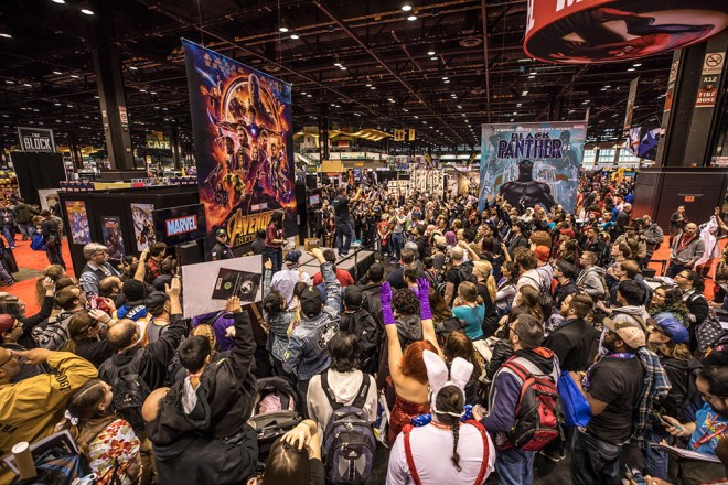 C2E2 2018 in Chicago image featured in The Haute Seeker March 21st - 24th Weekend Seekers Guide