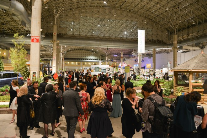 Image of attendees at the Chicago Flower and Garden show featured in  the March Guide of Events in Chicago 2019 on TheHauteSeeker.com
