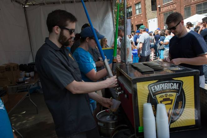 Ravenswood on Tap 2019 feature in The Haute Seeker Chicago June Events Guide 2019