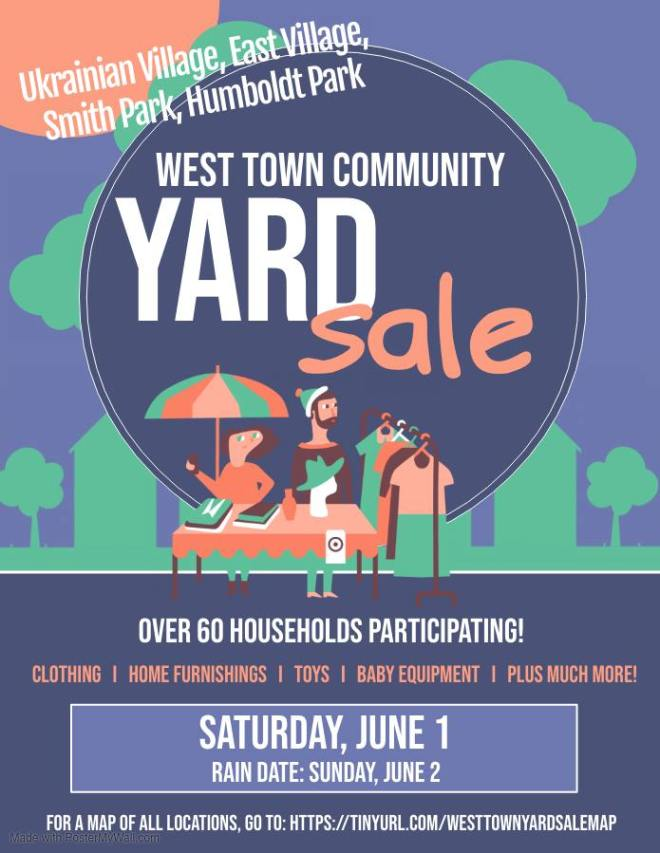 West Town Community Yard Sale in Chicago featured on The Haute Seeker