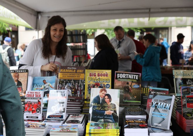 Printers Row Lit Fest feature in The Haute Seeker Chicago June Events Guide 2019