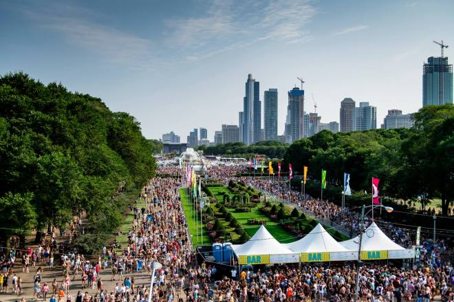 Lollapalooza featured in the Weekend Seekers Guide August 1st - 4th on The Haute Seeker