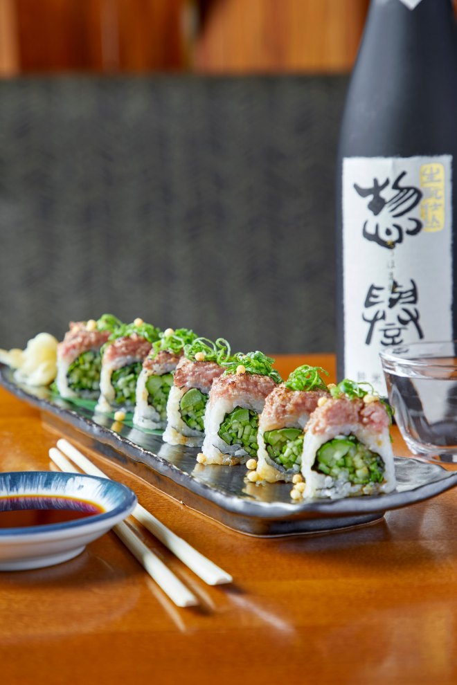 Sushi from Roka Akor featured on The Haute Seeker Happy Hour
