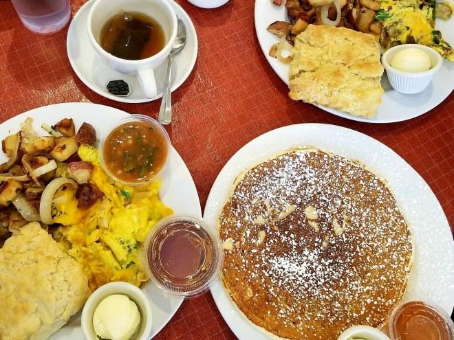 Breakfast at Sweet Maple's Cafe by The Haute Seeker