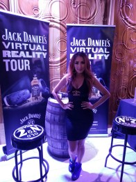 Jack Daniel's activation station at the 2nd Annual AGORA Sneakerball 2017