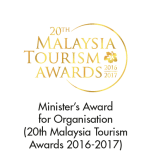 Tourism Minister's Award (20th Malaysia Tourism Awards 2016-2017)