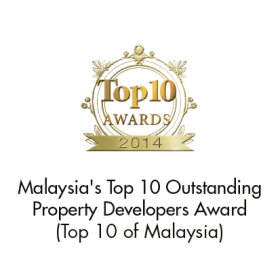 Malaysia's Top 10 Outstanding Property Developers Award (Top 10 of Asia Award 2014)