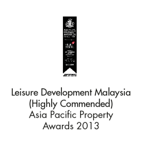 Leisure Development Malaysia (High Commended) Asia Pacific Property Awards 2013
